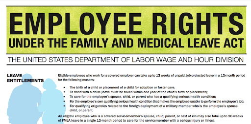 Poster for the FMLA in PA