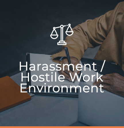 Harassment : Hostile Work Environment