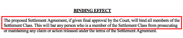 Binding Effect of Wage and Hour Lawsuits