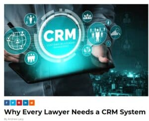 CRM Article